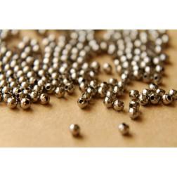 150 pc. 3mm Gunmetal Spacer Beads | FI-138