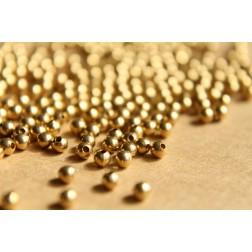 150 pc. 3mm Raw Brass Spacer Beads | FI-153