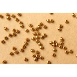 150 pc. 4mm Raw Brass Spacer Beads | FI-293