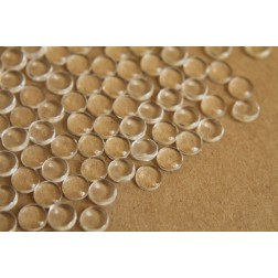 50 pc. Round Glass Cabochons - 6mm | MIS-021