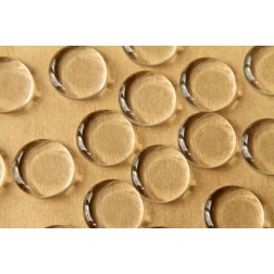 25 pc. Round Glass Flat Cabochons - 18mm   MIS-045
