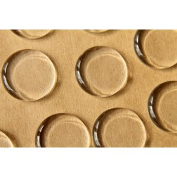 25 pc. Round Glass Flat Cabochons - 25mm | MIS-047